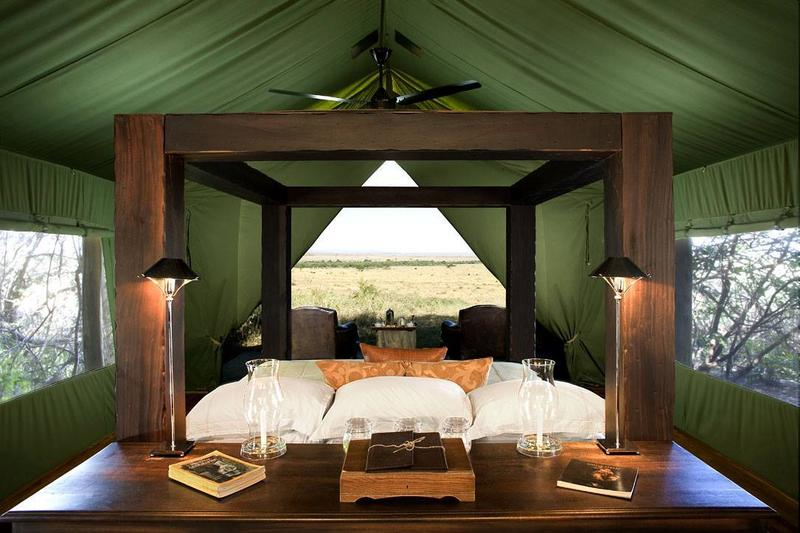 Safari Tent example