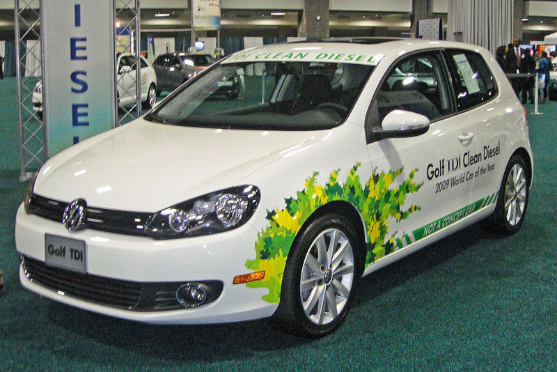 VW showed off their Gold TDI Clean Diesel at the 2010 Washington Auto Show. The company has since admitted to evading emissions standards for the last seven years.