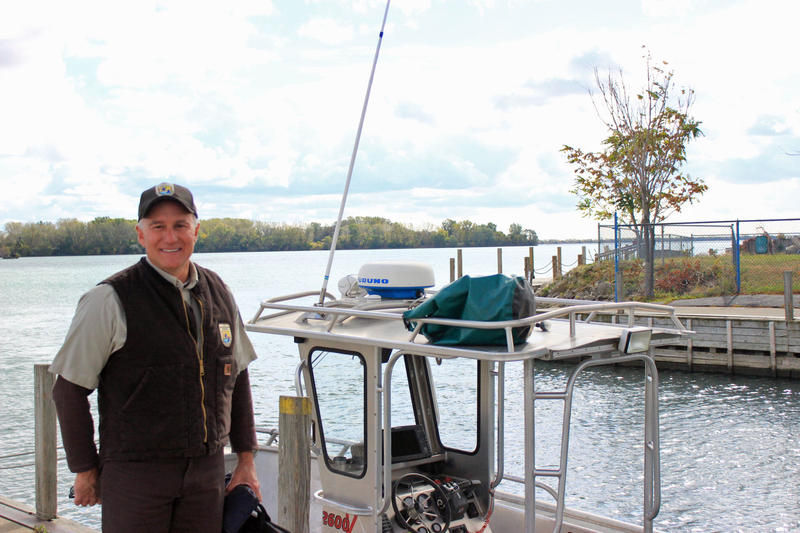 Jim Boase is a fisheries biologist with the U.S. Fish and Wildlife Service.