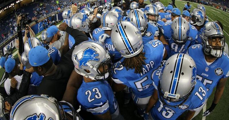 The Detroit Lions prepare to take on the Minnesota Vikings.