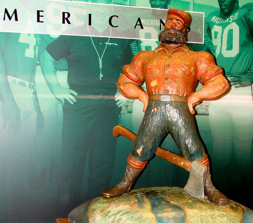 The Paul Bunyan trophy is up for grabs this weekend. Will it stay at MSU?