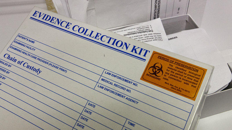 After Wayne County found some 11,000 abandoned rape kits, a statewide survey found another 1800 around the state