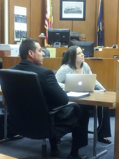 William Melendez in court.