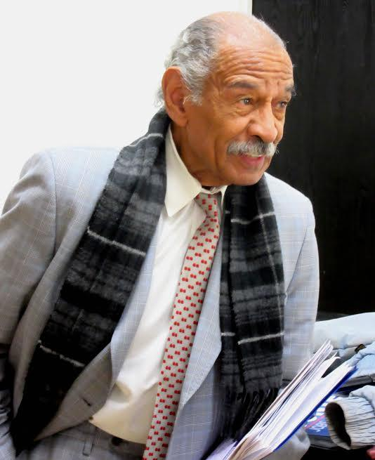 Former U.S. Rep. Conyers resigned this week, in the wake of sexual harassment allegations which he denies.