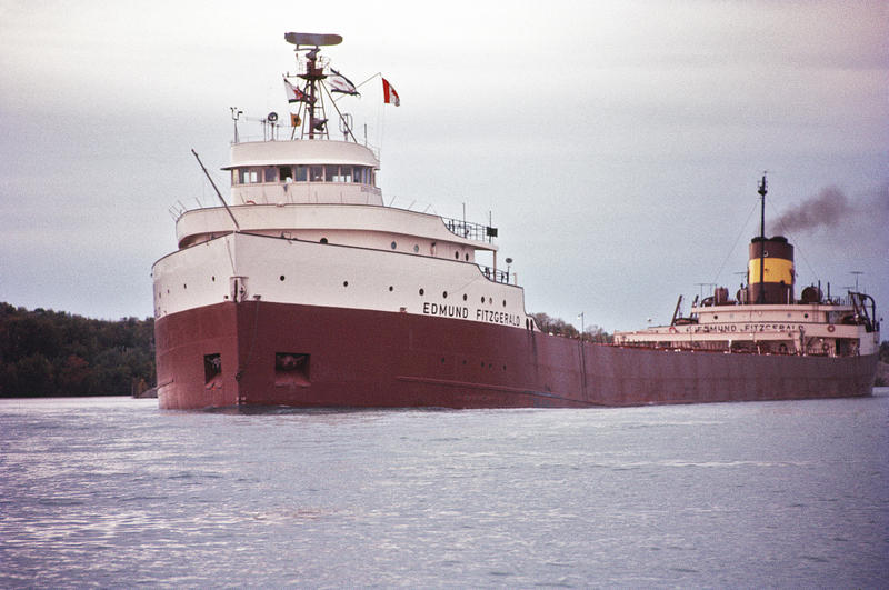 The Edmund Fitzgerald in 1971.