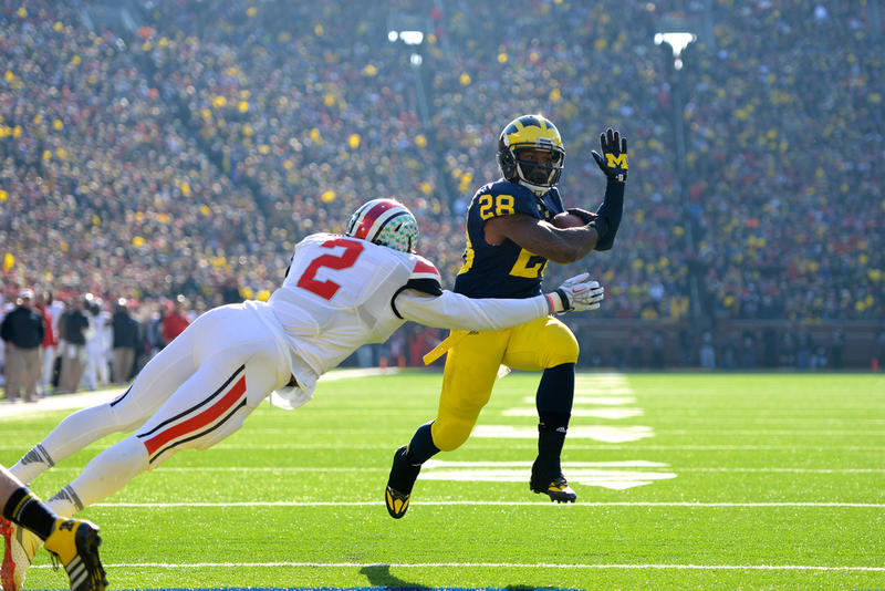 Picture from the Michigan-Ohio State game in 2013.