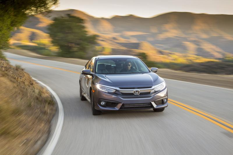 The 2016 Honda Civic was nominated for North American Car of the year.