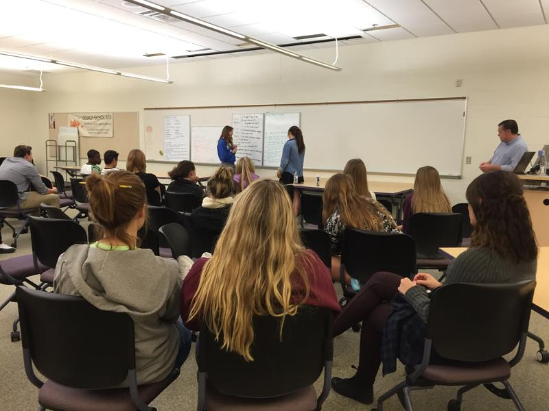 Scott Durham's class at Lakeview High School in Battle Creek explores inequality and empowerment