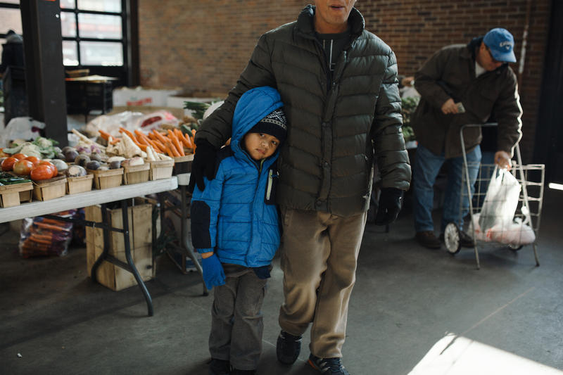 The Eastern Market provides local and fresh produce to Metro Detroit.