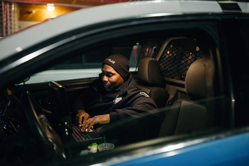 Detroit Police Officer reports a series of car break-ins outside of a Corktown bar.