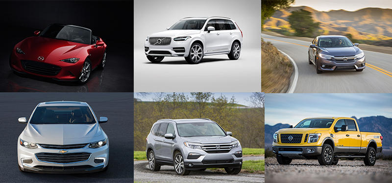 The 2016 North American Car and Truck of the Year finalists have been announced. Click through to see who made the list.