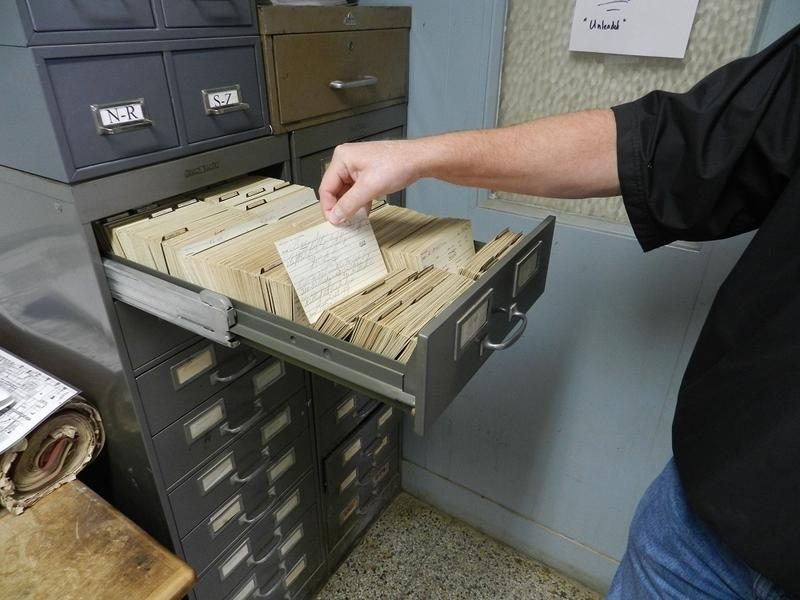 Flint's records of where its lead service lines are located were on hundreds of index cards until February 2016.