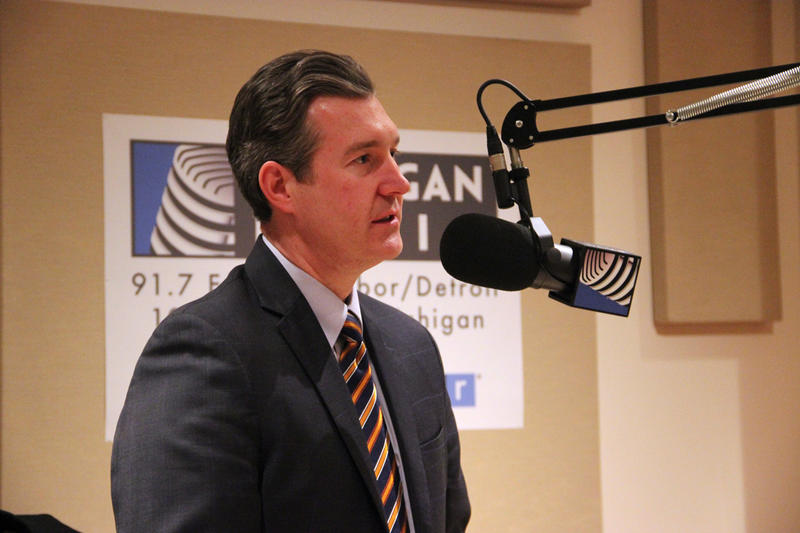 Former Flint mayor Dayne Walling joined us in-studio to discuss the Flint water crisis