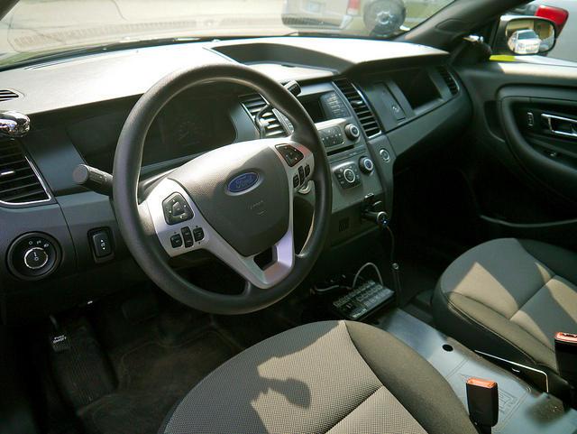 ford, dash board, car