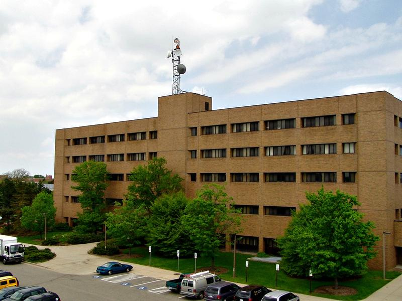 Communicat Arts and Science building on Michigan State University's campus