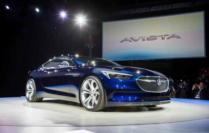 The color of this Buick Avista concept car caught the eye of Cynthia Canty at the 2016 National American International Auto Show.