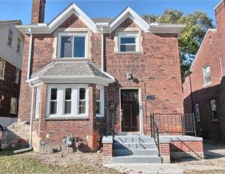 A house for sale on the Detroit Land Bank's online auction site.