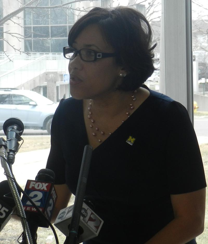 """""""She is the best candidate, that happens to be a woman,"""" Mayor Karen Weaver said of Hillary Clinton, the presumptive Democratic nominee for president."""