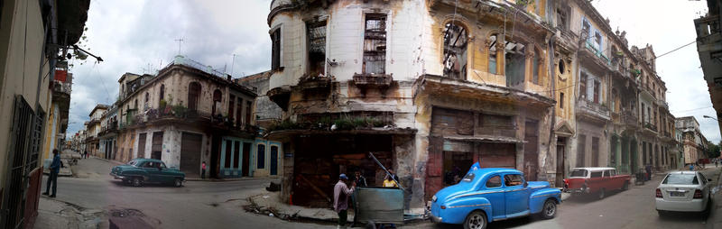 The streets of Havana, Cuba in December of 2014.