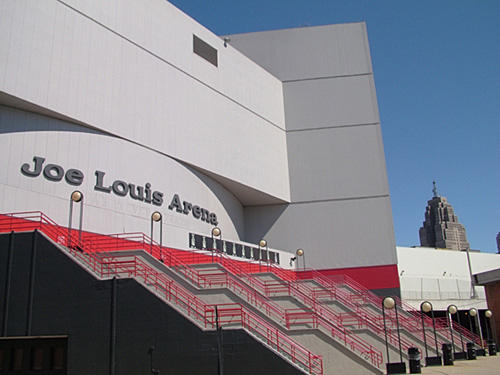 The Red Wings will host Game 4 at Joe Louis Arena on Tuesday.
