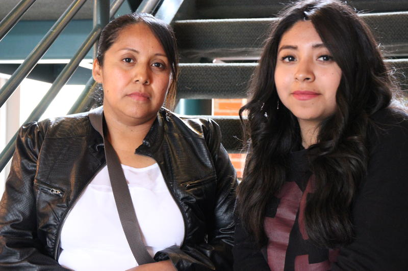 Susana Bernabé-Ramirez and her daughter Sayra Hernandez
