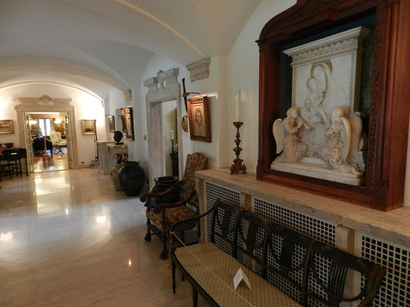 The Gallery features a unique collection of European and American art