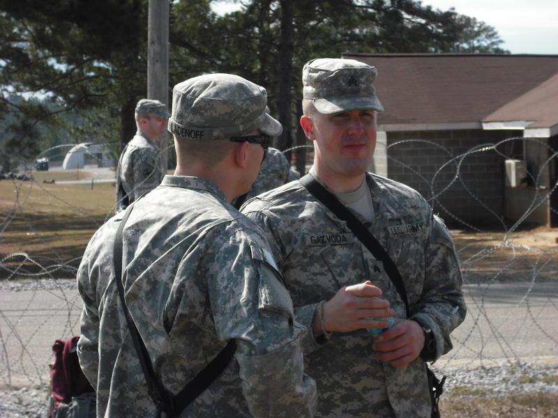 Sgt. Anthony Gazvoda (right)