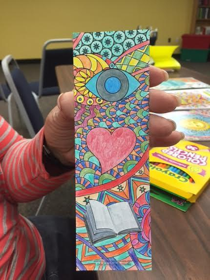 You Can Also Color Bookmarks At The Coloring Club Do See Cryptic Message In This One