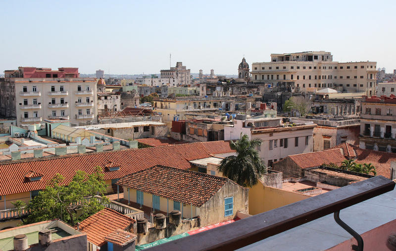 View of Havana from Hotel Ambos Mundos.