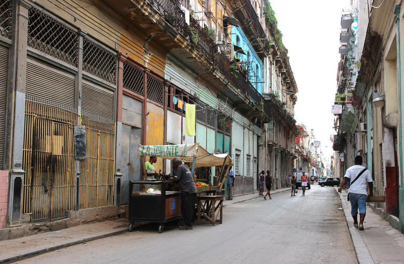 A street in Old Havana.