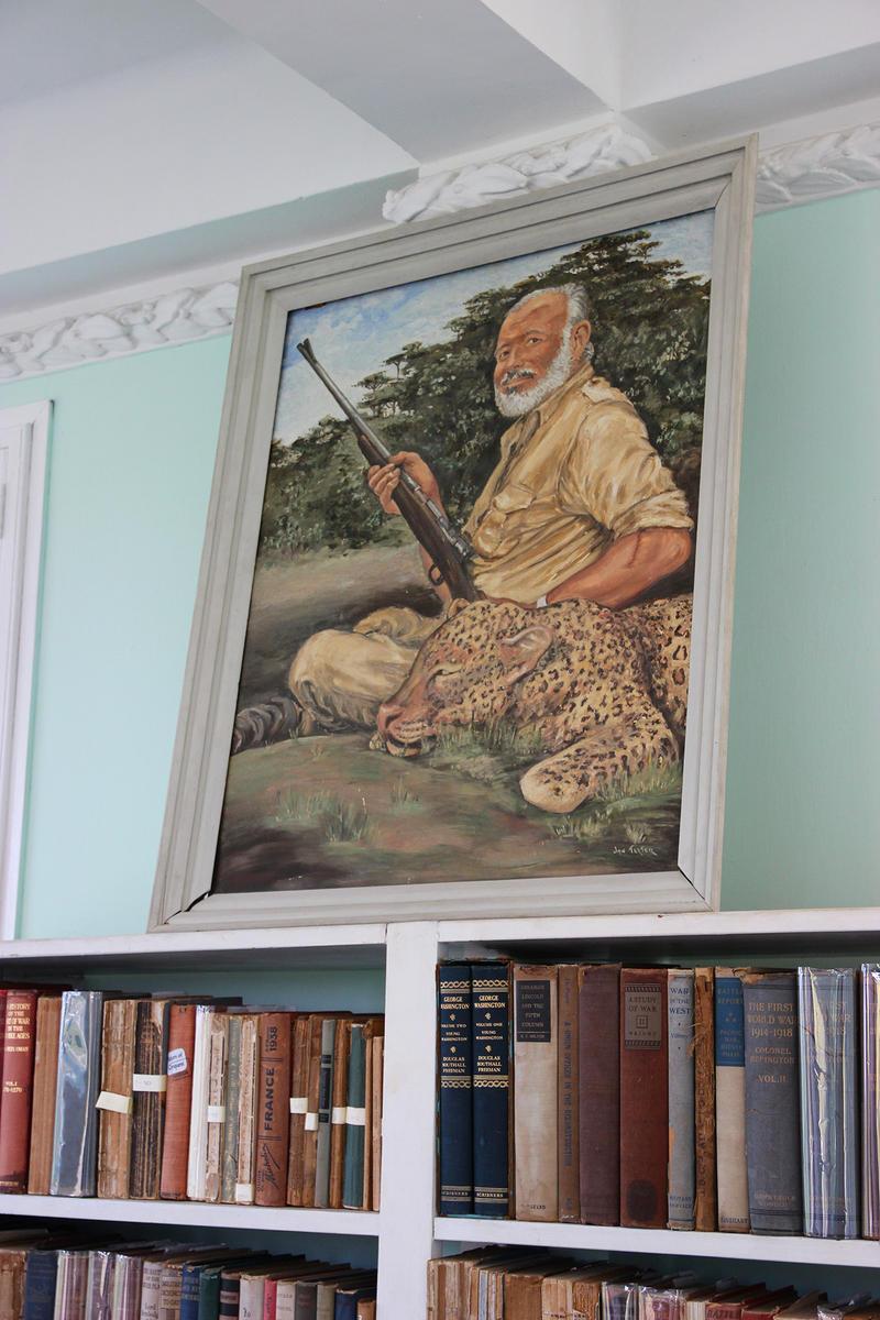 Hemingway estate in Cuba