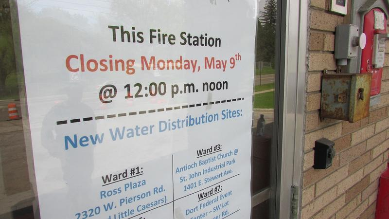 Officials are phasing out Flint fire stations as water distribution sites in favor of new neighborhood centers manned by paid staffers.