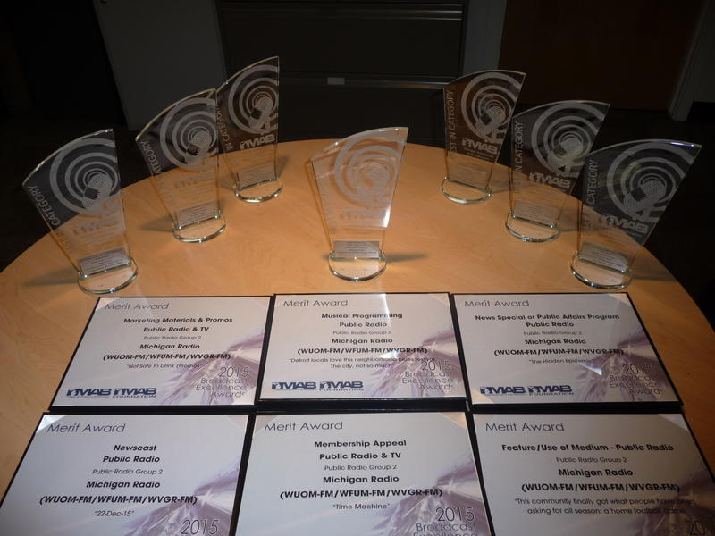 Michigan Radio's Best In Category and Merit Awards