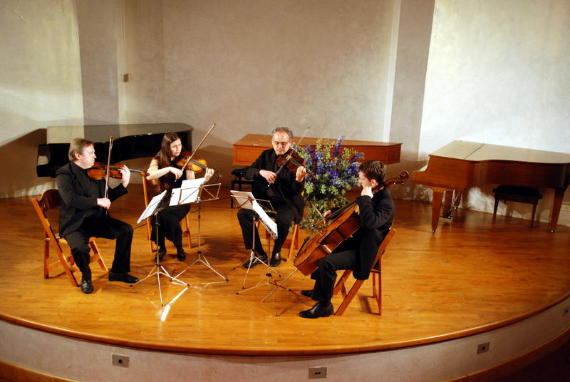 A string quartet