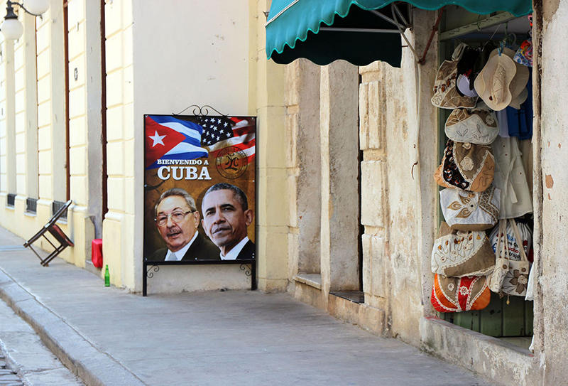 President Obama visited Cuba in March. It was the first visit by a U.S. president in 88 years.