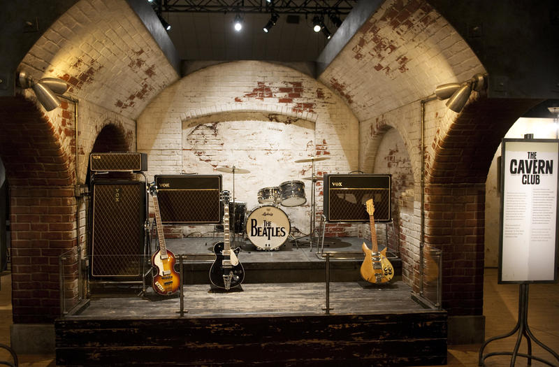 The Cavern Club: Brick by brick replica of Liverpool's Cavern Club stage where the Beatles first performed.