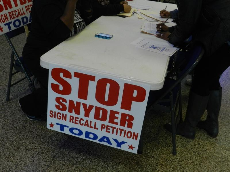 Volunteers have been collecting signatures on recall petitions since Easter Sunday
