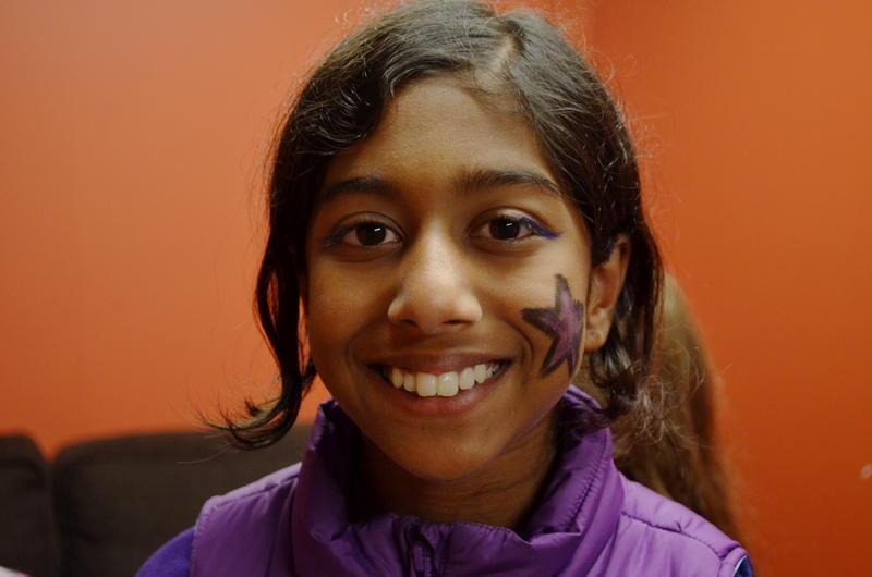 Meera Ramaswami participates in Girls Rock Detroit