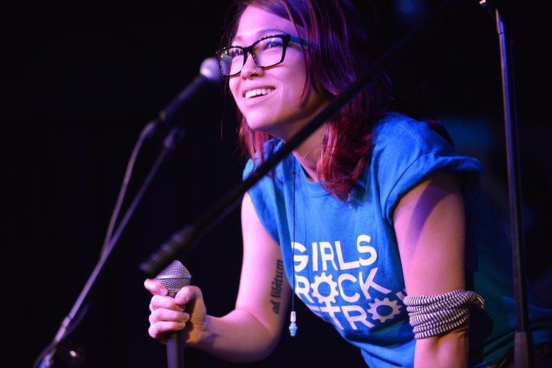 Girls Rock Detroit co-founder Melissa Coppola