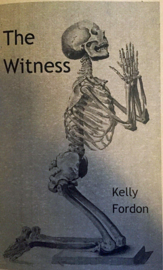 "Chapbook cover for ""The Witness"""