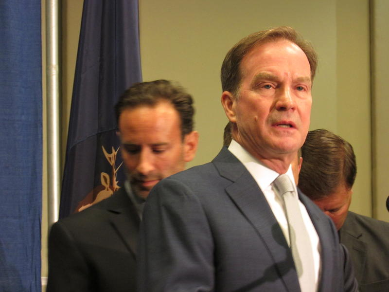 Attorney General Bill Schuette on Friday decided the state will not withhold funds from schools with potentially offensive mascots. Schools willing to change their mascots can receive money from the Native American Heritage Fund.