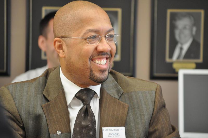 Charles Pugh in 2010.