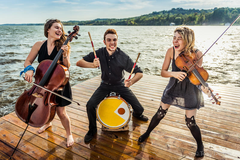 The Accidentals are Katie Larson, Michael Dause and Savannah Buist