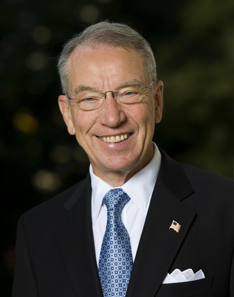 "U.S. Sen. Charles ""Chuck"" Grassley, (R-Iowa)"