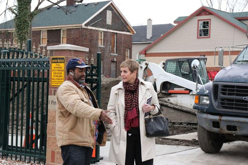 Brooks took host Cynthia Canty on a tour of his home and work.