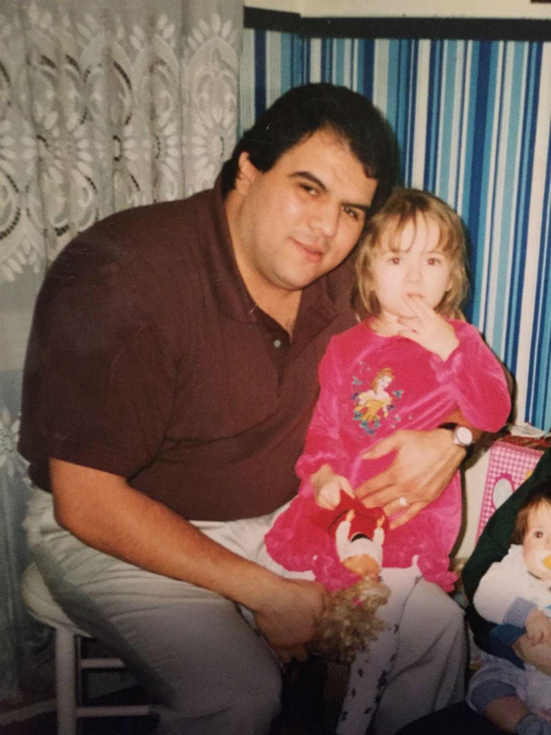 In 1997, about seven years out of college, Ramirez was up to 280 lbs.