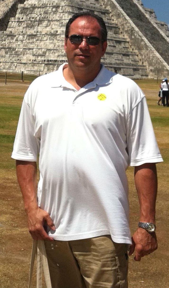 Ramirez in 2011 at 260 lbs before changing his diet.