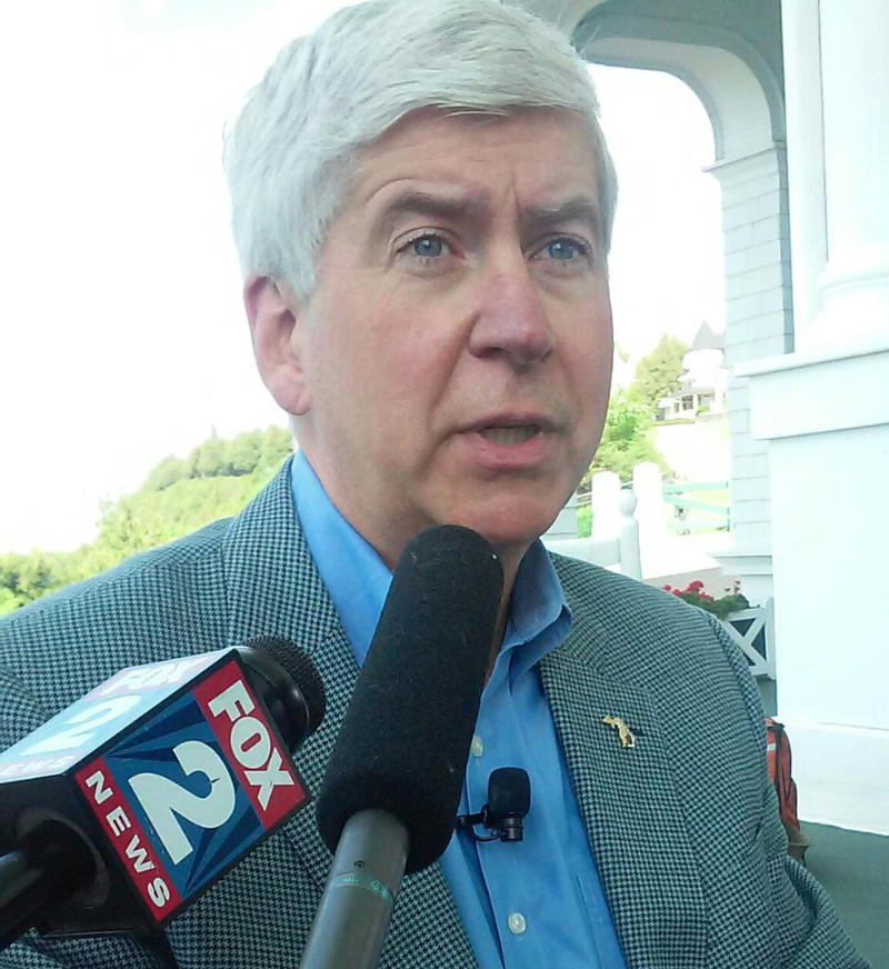 Gov. Rick Snyder at the 2016 Mackinac Policy Conference