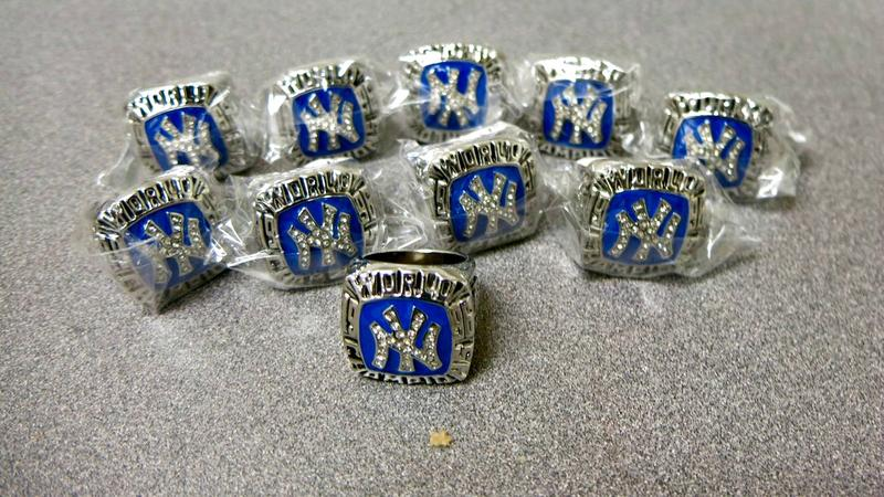 Counterfeit sports championship rings