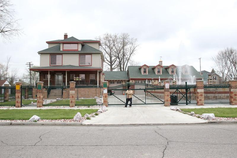 """The Castle,"" Chuck Brooks' home on Detroit's east side"